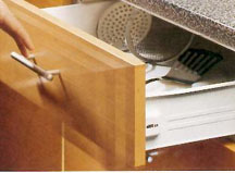 Drawer Front Mounting Brackets.